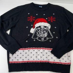 Star Wars Darth Vader Christmas sweater XL